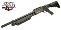 G&P Metal M870 Medium Entry Shogun (Black)