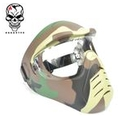 Hakkotsu Anti-fog Full Face Mask (Woodland Camo)