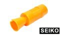 SEIKO AK U type Flash Hider for FD603 AEG (Orange)