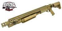 G&P Metal M870 Medium Breacher Shogun (Dark Earth)