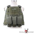 King Arms MPS SAPI Vest Set (M4 Type, Olive Drab)