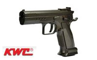 KWC Metal 75 Tactical Model CO2 GBB Pistol (Black)