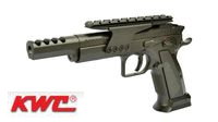 KWC Metal 75 Competition Model CO2 GBB Pistol (Black)