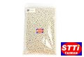 STTI 6mm 0.2g BB Bullets Bag Packing (1KG, White)