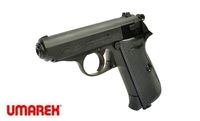 UMAREX Metal Walther PPK/S CO2 GBB Pistol  (4.5mm, Black)