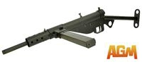 AGM Sten MkII Airsoft Electric Gun AEG WWII British SMG (058)