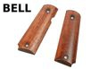 BELL Wood Hand grip for 1911 CO2 / Gas GBB (Oak)