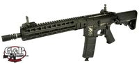 G&P Metal M4 Assault Rifle AEG with 11 inch TMR RAS (Black)
