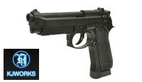 KJ WORKS M9A1 Full Metal Pistol (CO2 Version)