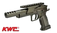 KWC Metal 75 Competition Model CO2 GBB Pistol (4.5mm, Black)