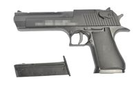 Desert Eagle .50AE Metal slide Spring Pistol (Black)
