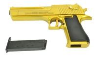 Desert Eagle .50AE Metal slide Spring Pistol (Gold)