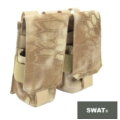 SWAT Molle Double Mag Pouch for M4 Mag (Nomad)