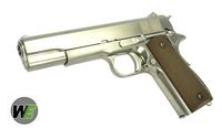 WE Metal M1911A1 GBB Pistol without marking (SV w/ BR Grip)