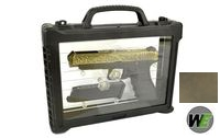 WE Aluminum Slide G34 GBB Pistol Classic Pattern(w/Case,Bronze)
