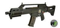 WE G39C Assault Rifle GBB with IDZ Stock Kit (Black)