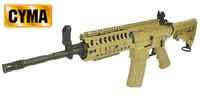 CYMA Metal M4 SYSTEM Assault Rifle AEG (CM008, Tan)
