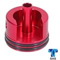 SHS CNC Cylinder head for AEG Ver. 2 gear box (Short , Red)