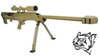 Snow Wolf Metal M99 Air-cocking Sniper Rifle with Scope (Tan)