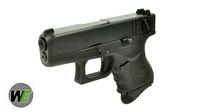 WE Metal Slide G26 GBB Pistol Full Auto + Gen 4 Frame Ver. (BK)