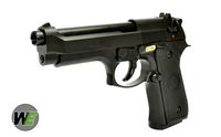 WE Metal New System M9 GBB Pistol Semi&Auto Ver. (Black)