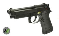 WE Metal New System M9A1 GBB Pistol Semi&Auto Ver. (Black)