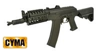 CYMA Metal AKS-74UN Asault Rifle with MOD Stock (CM.040H, Black)