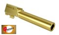 Guarder CNC Aluminum Outer Barrel for KJ G23 (B, Titanium Gold)
