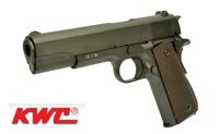 KWC Metal M1911A1 CO2 GBB Pistol (Black)