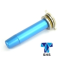 SHS Aluminum Spring Guide for Version 2 Gearbox (blue)