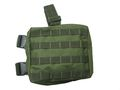 Military Universal Leg Bag with Triple Magazine Pouch - OD