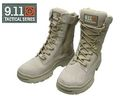 9.11 Tactical British Military Combat Boot with Zipper - DC
