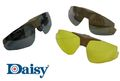Daisy Desert Eagle Flip-Up Shooting Glasses (3 Lens) -CB