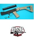 G&P AK Metal Body Set (FM Style) (Folding Stock) (Sand)