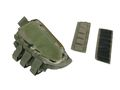 Rifle Stock Right Cheek Leather Pad Ammo Gear Pouch -Multicam CP
