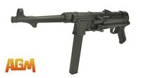 AGM Metal Frame MP40 SMG AEG (Black)