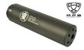 APS Metal 175mm Silencer with outer thread (Black)