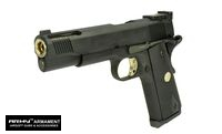 Army Metal M1911A1 V12 Custom GBB Psitol (R30, Black)