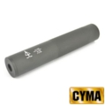 CYMA 195mm Silencer with Delta Force Marking(Black,14mm CW/CCW )