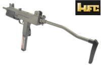 HFC Full Metal T77 Uzi SMG GBB (Black)
