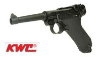 KWC Metal Model P08 CO2 GBB Pistol (Black)