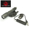 Night Evolution M620C flashlight with M93 Tactical Mount (Black)