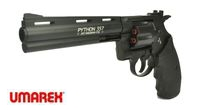 UMAREX Licenced Metal Colt Python CO2 Revolver (6 inch, 4.5mm)