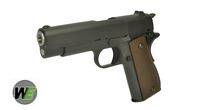 WE Full Metal M1943 GBB Pistol with 2 Magazine (Black)