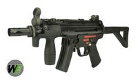 WE Stamped Steel Frame APACHE M5K PDW SMG GBB (Black)