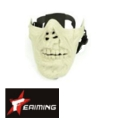 EAIMING Half Face Mask (White)