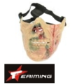 EAIMING Half Face Mask (Red/Pink)