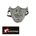 EAIMING Half Face Mask (Sliver/Black)