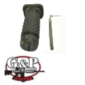 G&P Keymod Ball Ball Foregrip (Short) (Black)