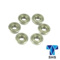 SHS Metal 8mm Ball Bearing For AEG Gearbox- 6pcs